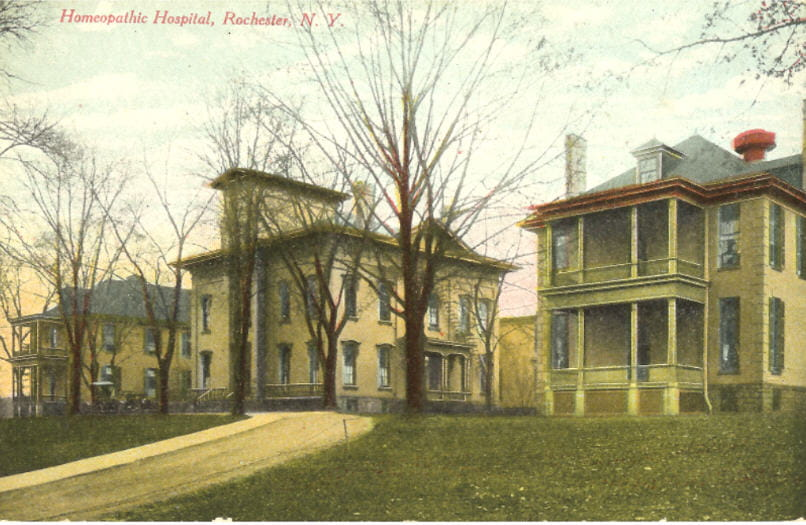 Focus Lee County >> History of Rochester Area Hospitals | Rochester Regional ...