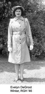 Cadet Nurse Corps  Evelyn DeGroot Winter 3