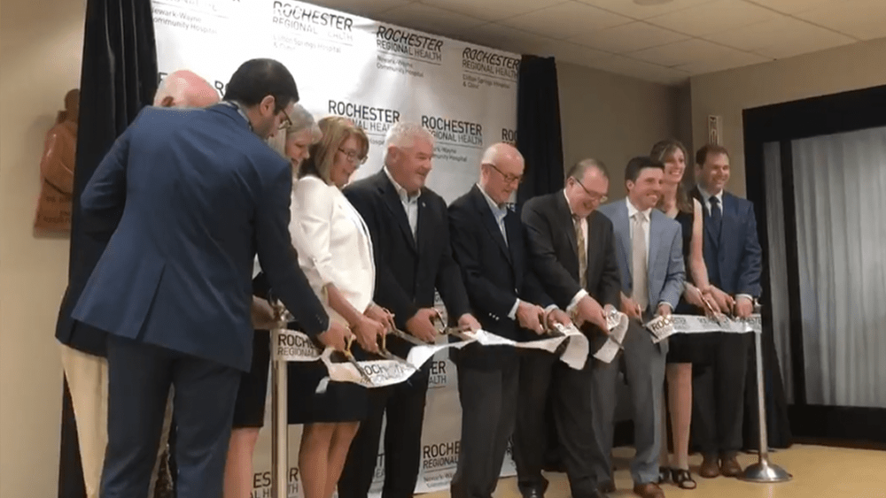 Ribbon Cutting at Clifton