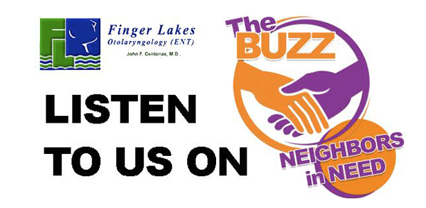 Listen to Finger Lakes ENT on The Buzz.