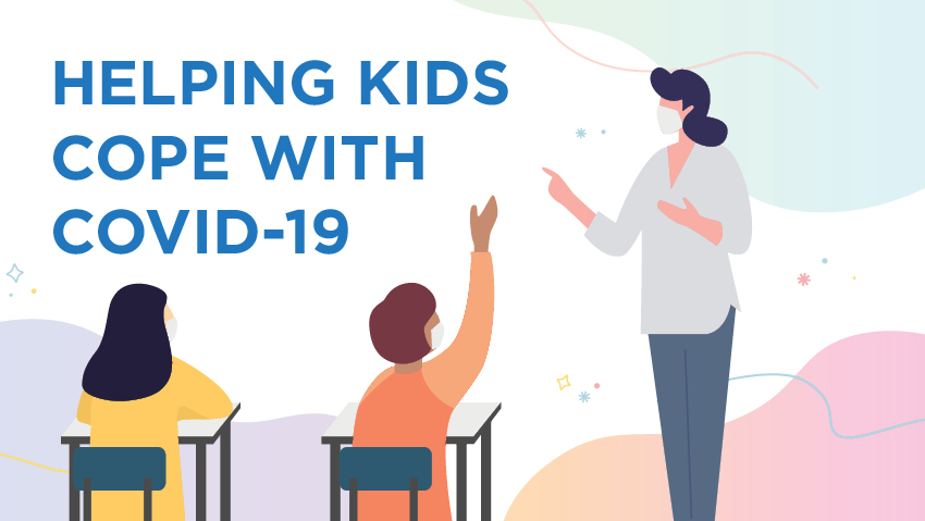 Helping kids cope with COVID-19 anxiety
