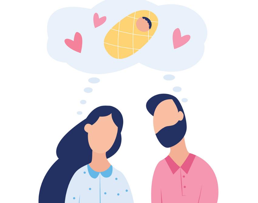 Fertility treatment couple
