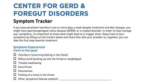 gerd symptom tracker