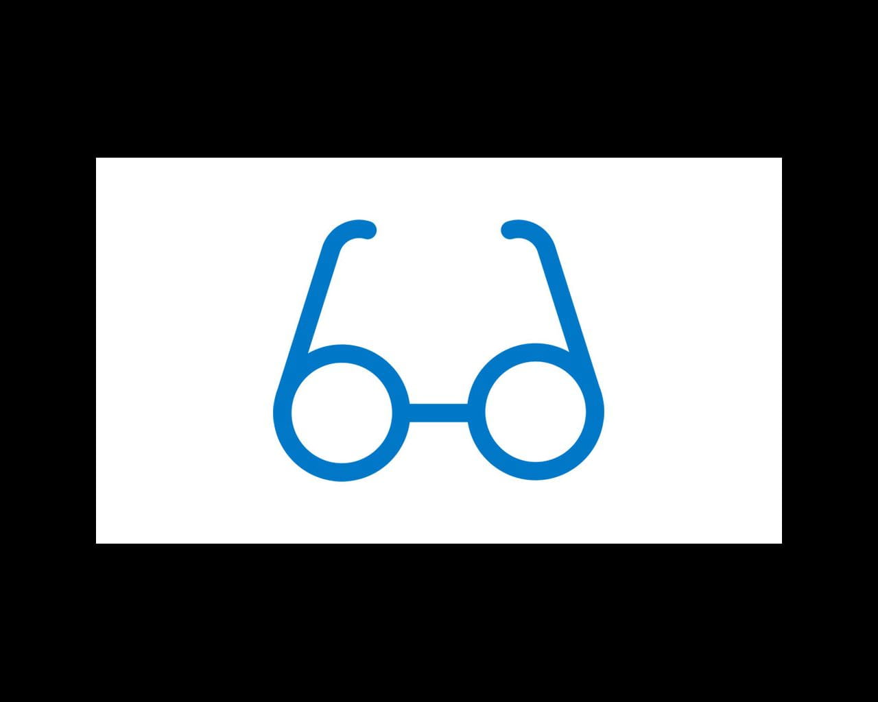eye glasses icon