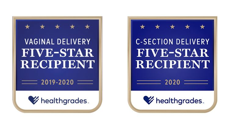 Healthgrades Women's Health Delivery Awards 2020