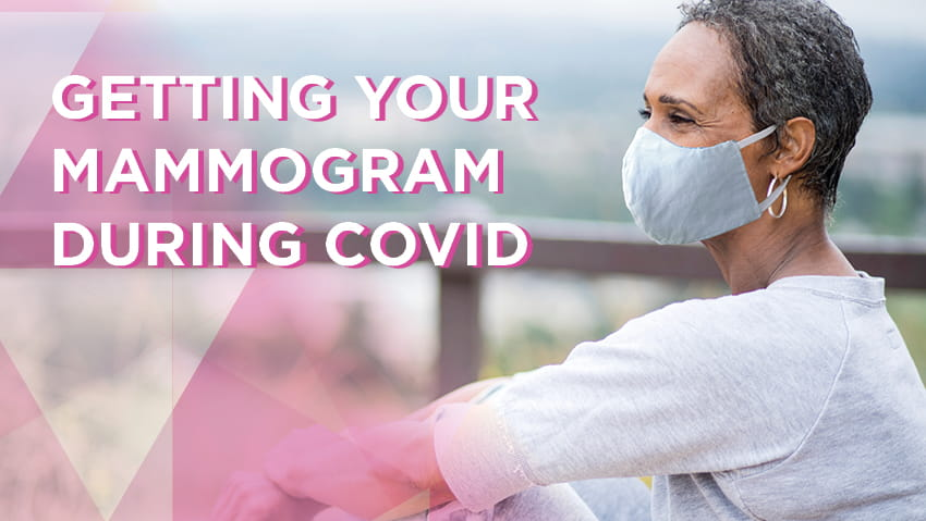 Getting a mammogram screening during COVID-19