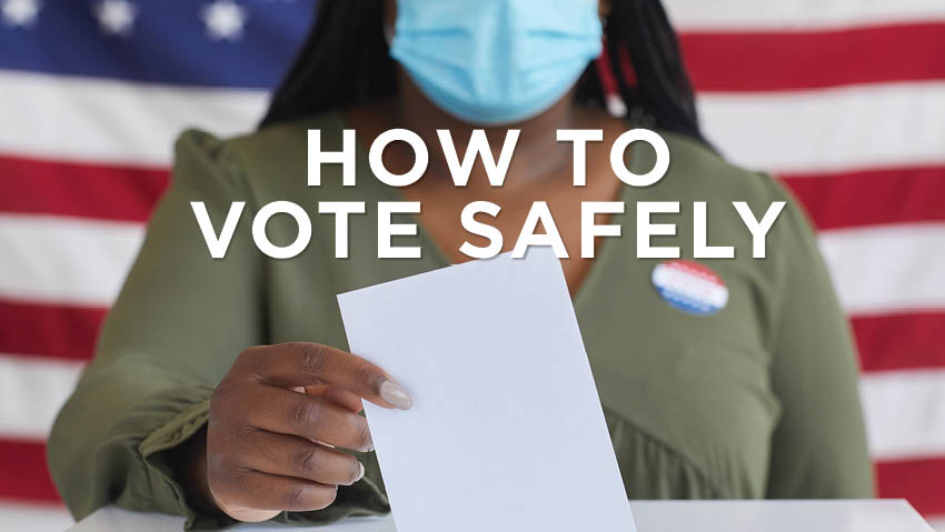Voting safety tips