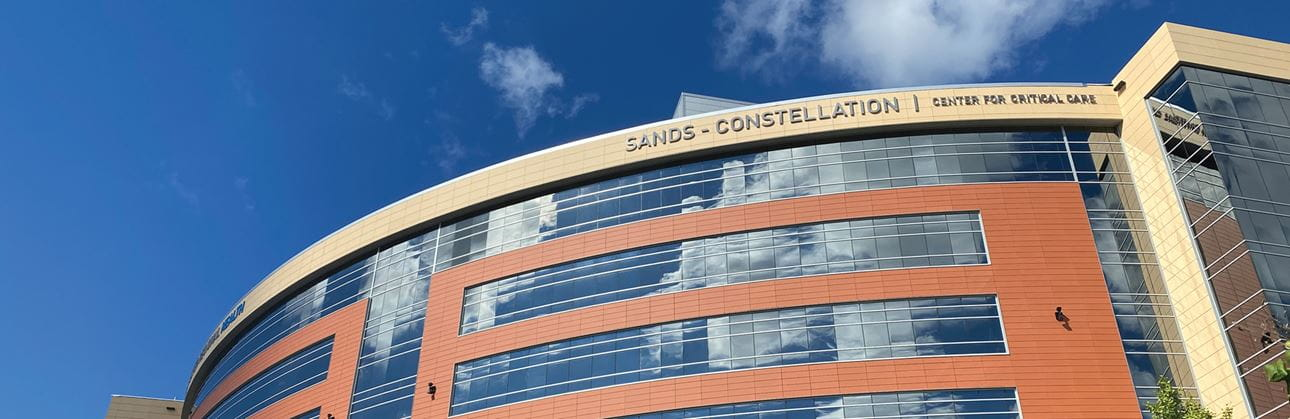 sands constellation center for critical care