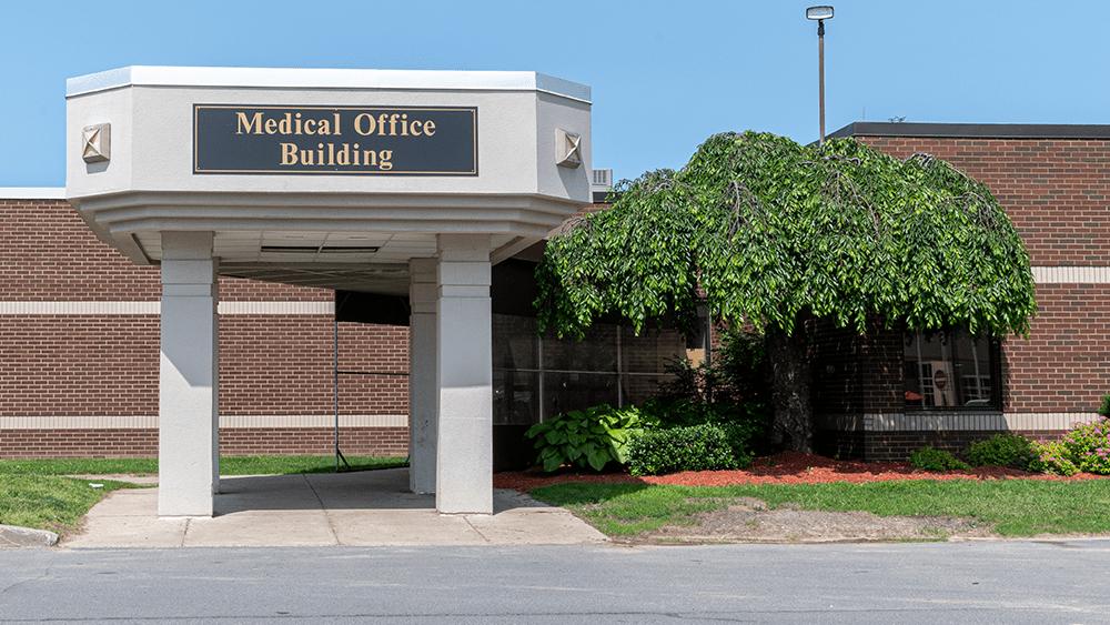 Newark Wayne Community Hospital Medical Office Building Entrance