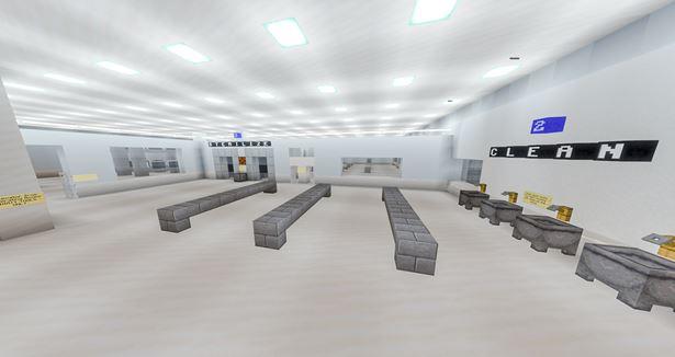 minecraft sterile room