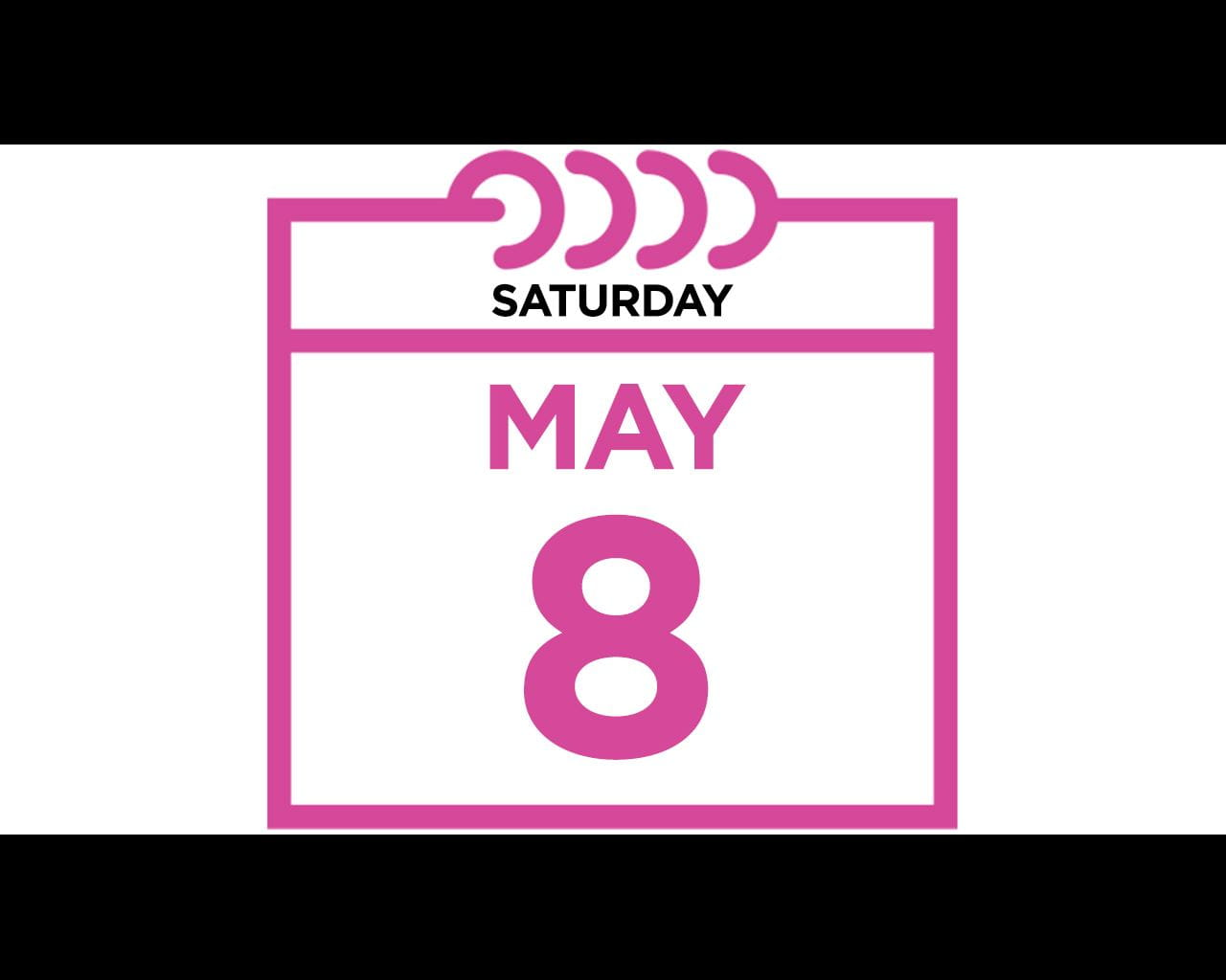 Saturday, May 8, 2021