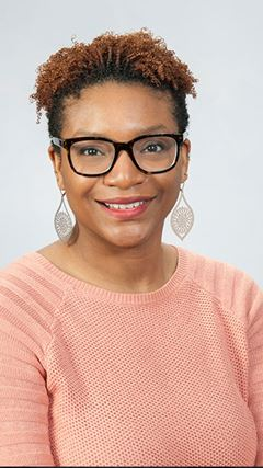 Midwife at Rochester Regional Health, Danielle Assibu-Gilmore.