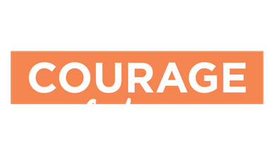 courage logo stacked