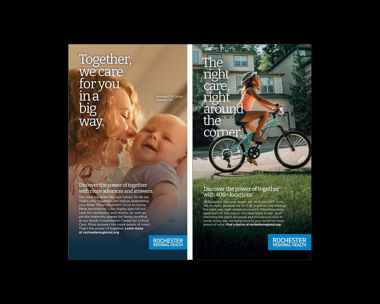 power of together print ads example