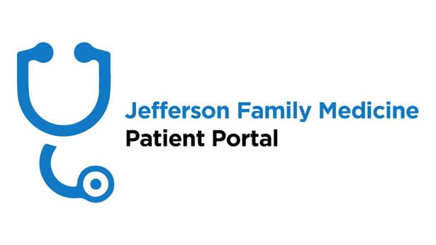 Icon and link to the Jefferson Family Medicine Patient Portal