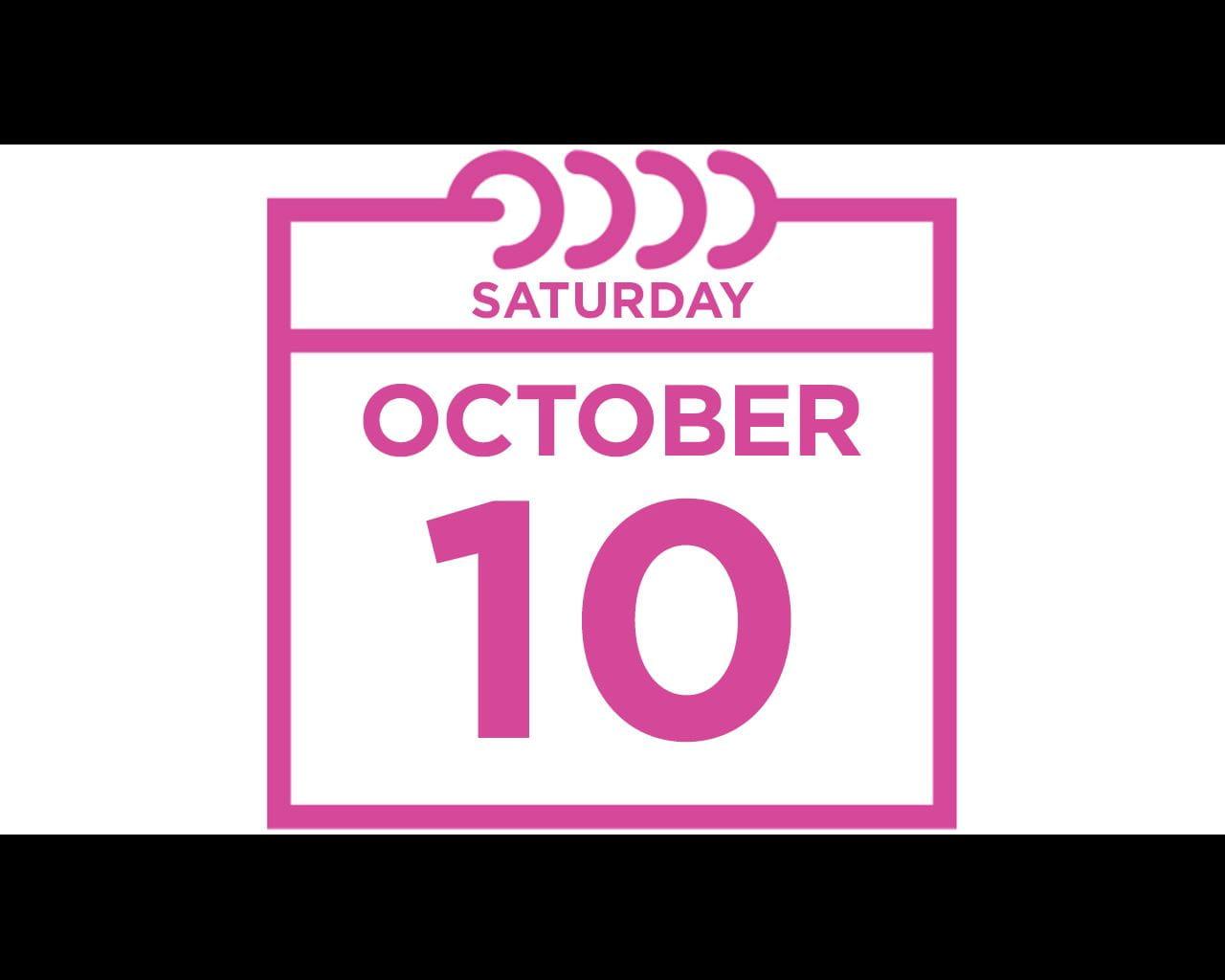 saturday october 10