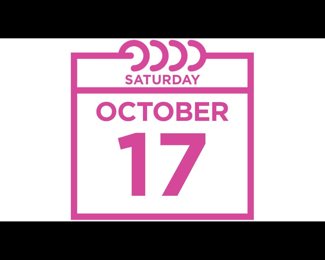 saturday october 17