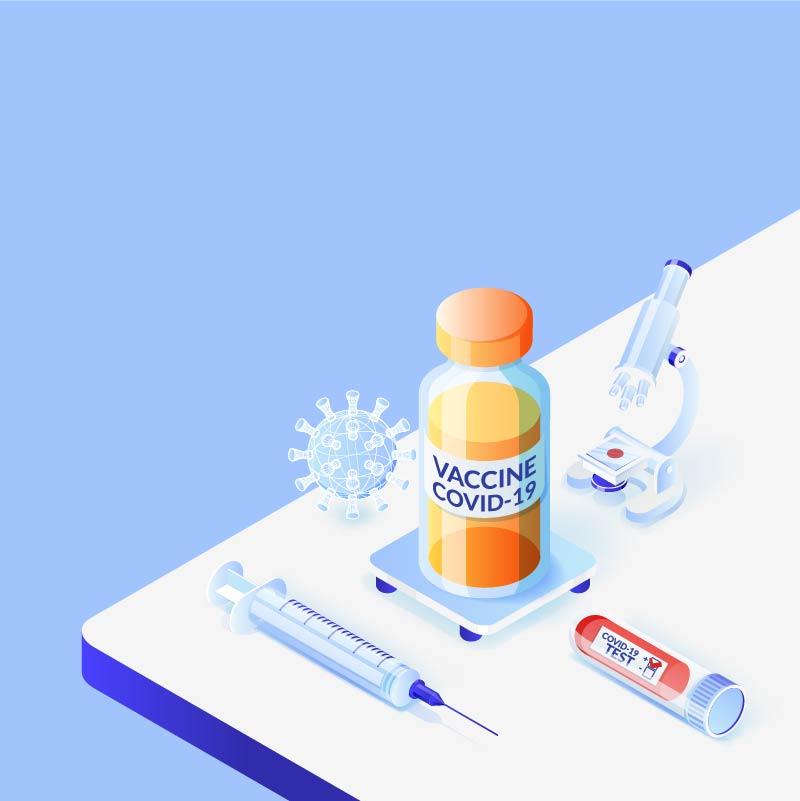 COVID-19 vaccine history