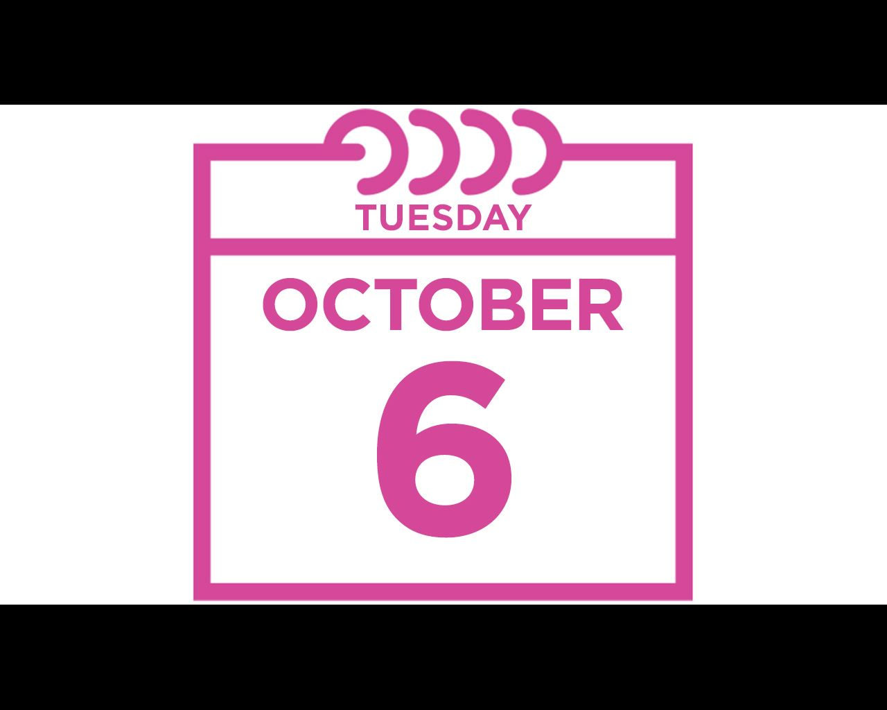 tuesday october 6